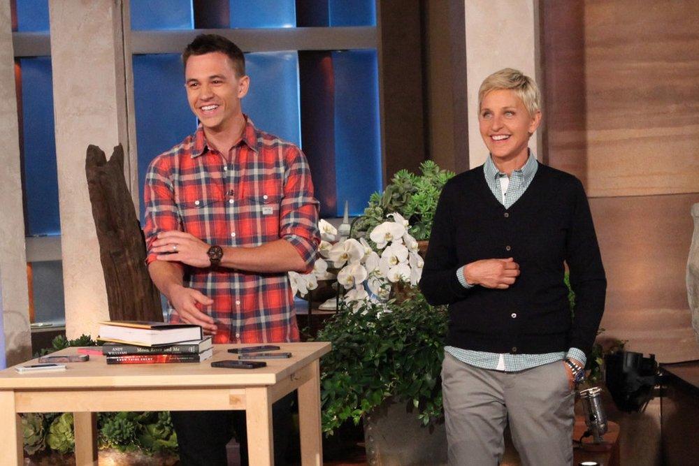 Justin that's incredible! You're Amazing. - Ellen Degeneres
