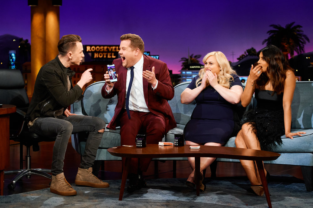 Justin Flom on late late magic show