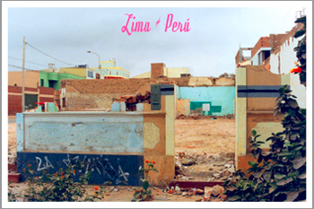 Lima Peru Terreno