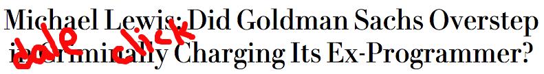Michael Lewis headline