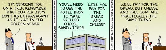 Dilbert Expense Report