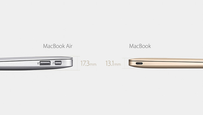 """""""La idea fuetomadade la MacBook Air, un producto ligero, estéticamente perfectoy totalmente funcional... ahora con el lanzamiento de la nueva MacBook, como que todo encaja"""""""