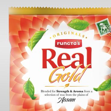 RUNGTA'S TEA   BRAND STRATEGY & PACKAGING DESIGN
