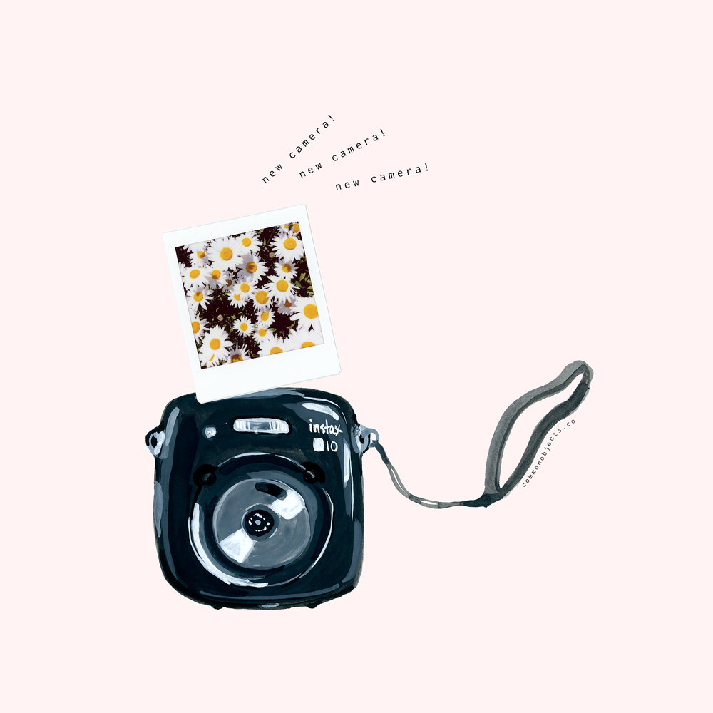 common objects instax