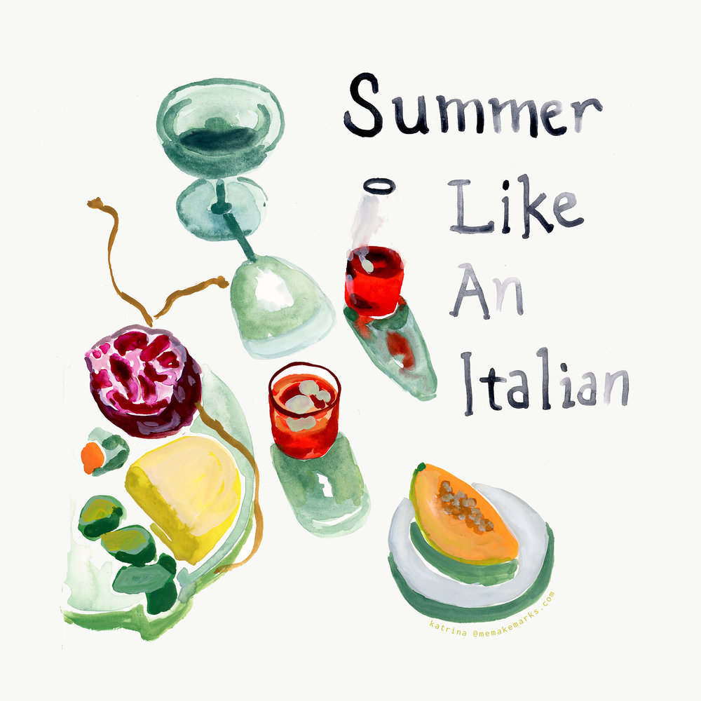 bon appétit summer like an italian