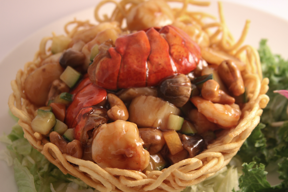 Seafood Bird Nest