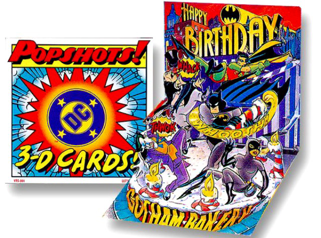 POPSHOTS 3-D card series