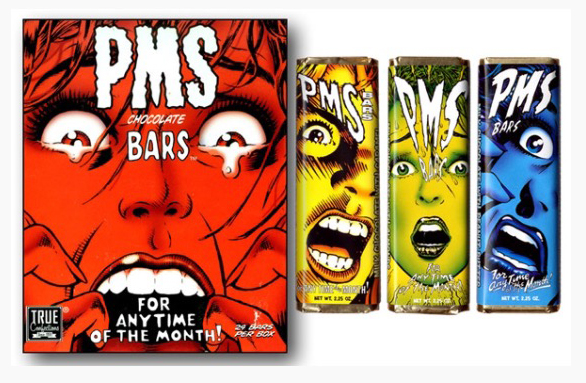 PMS Chocolate Bars