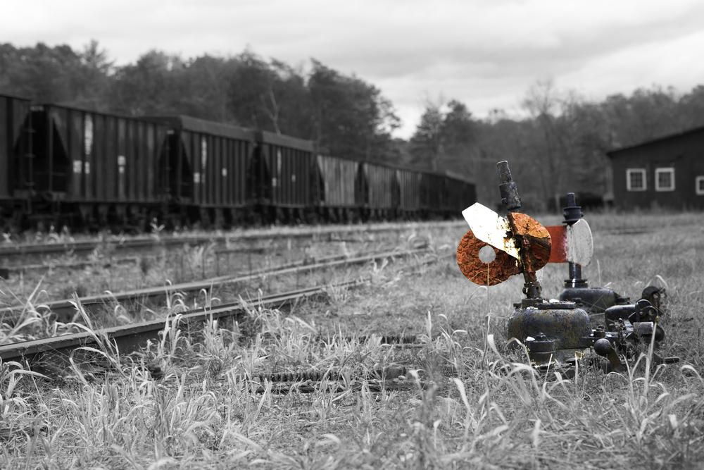 Abandoned Rail Yard