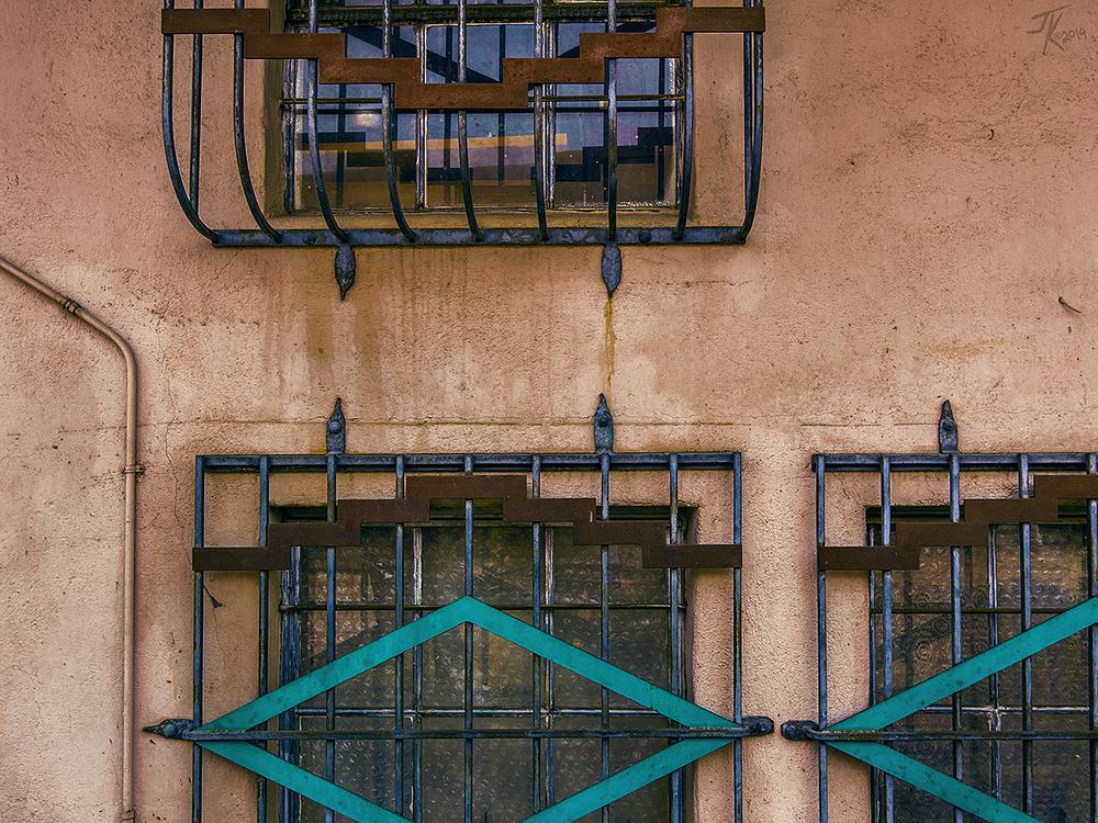 Southwest Deco; it's unique.