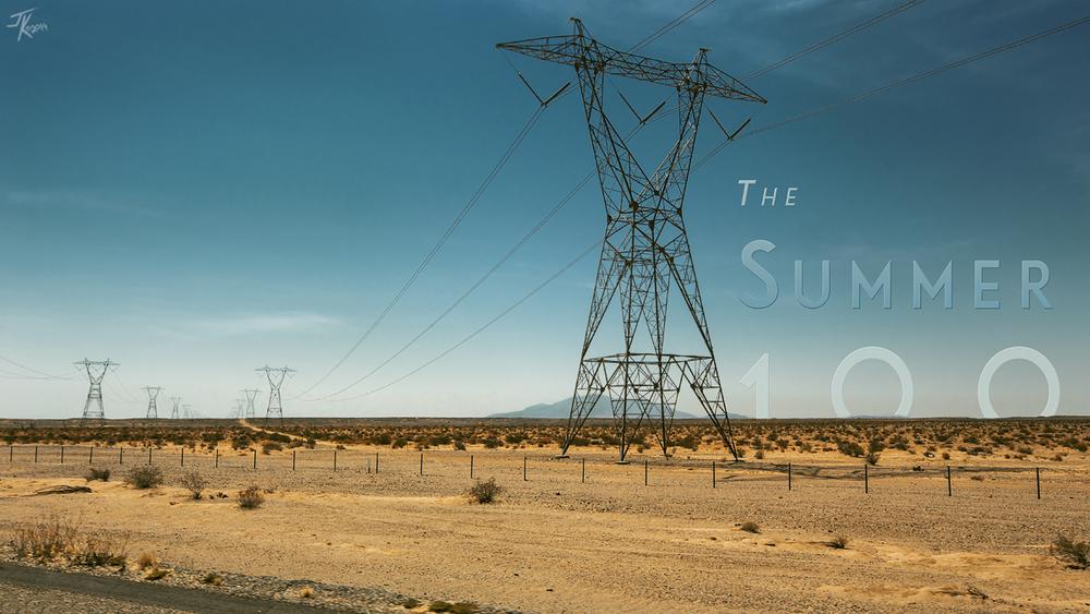 Somewhere along Highway 40 near Albuquerque.