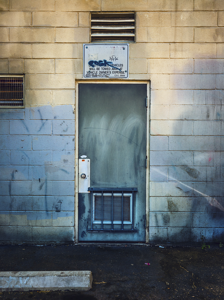 |#37| RAF Blue Proper ventilation for back-alley blues. Smeared surface, splattered and sleazy side-walls. Please, no overnight parking.