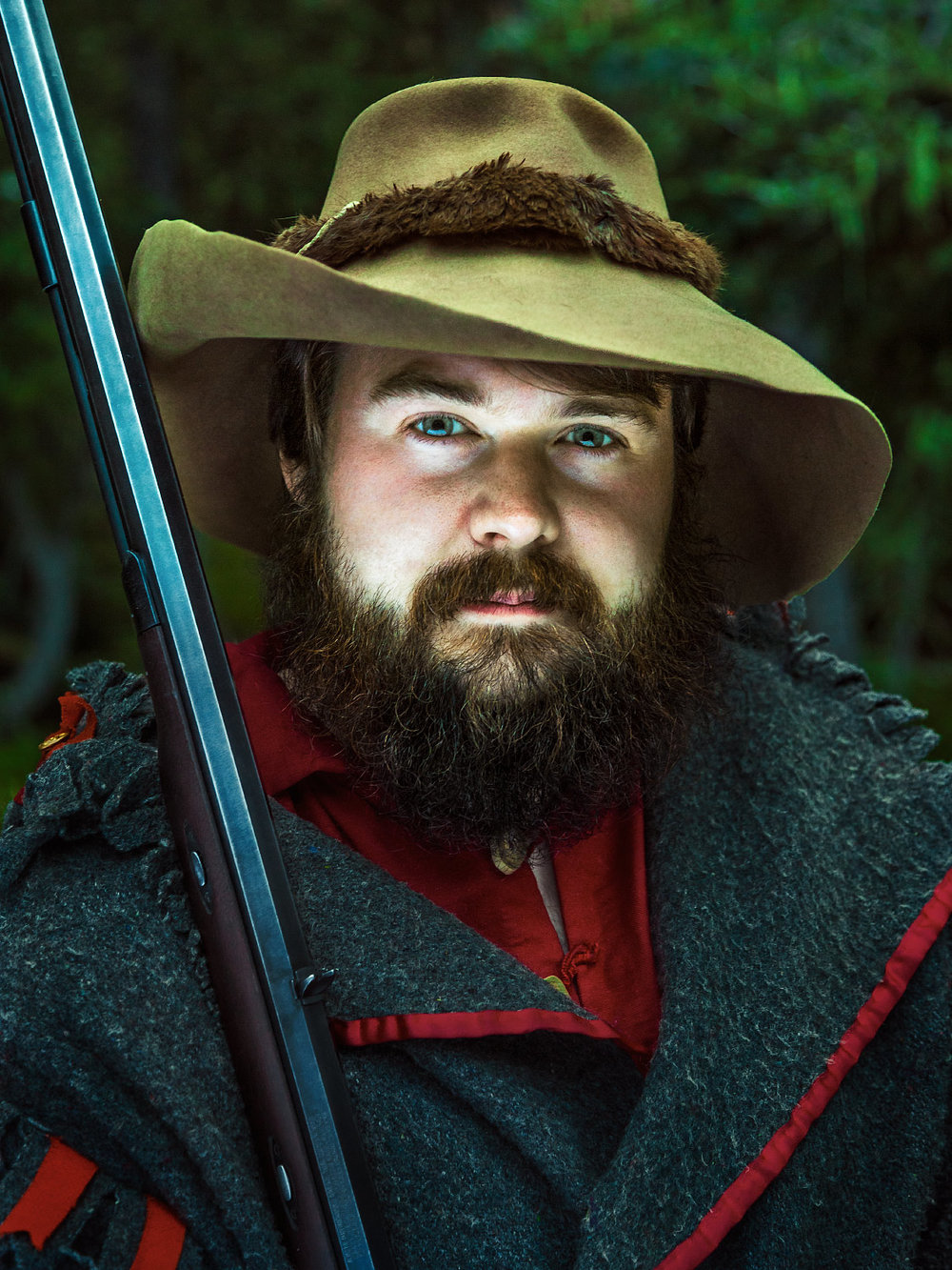 Will McKinney Clear Creek portrait Philmont Scout Ranch