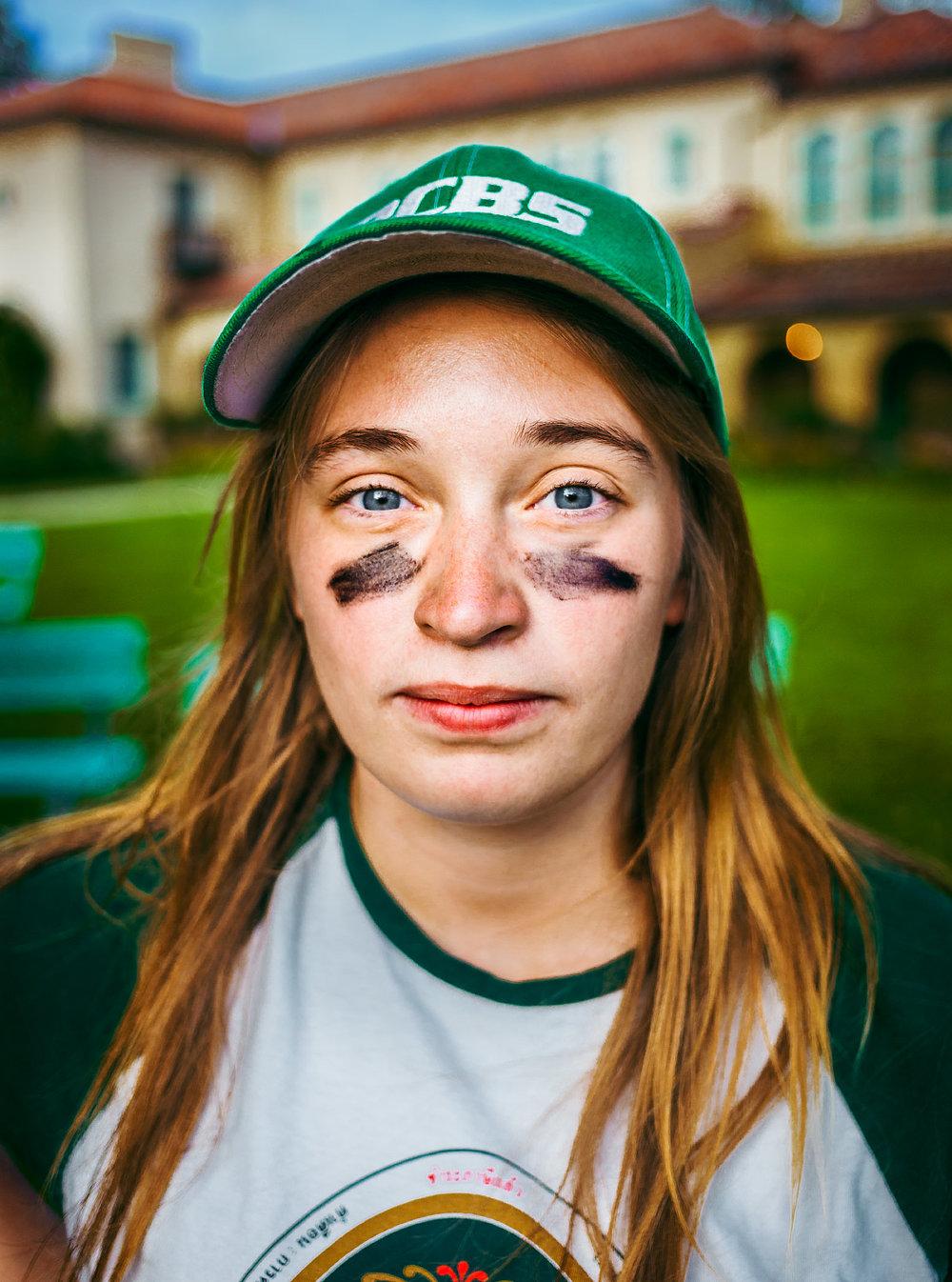 Nicole Butler softball portrait Philmont Scout Ranch