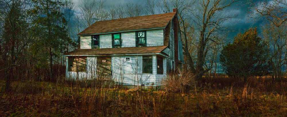 Abandoned house, Long Island, New York; 2011.