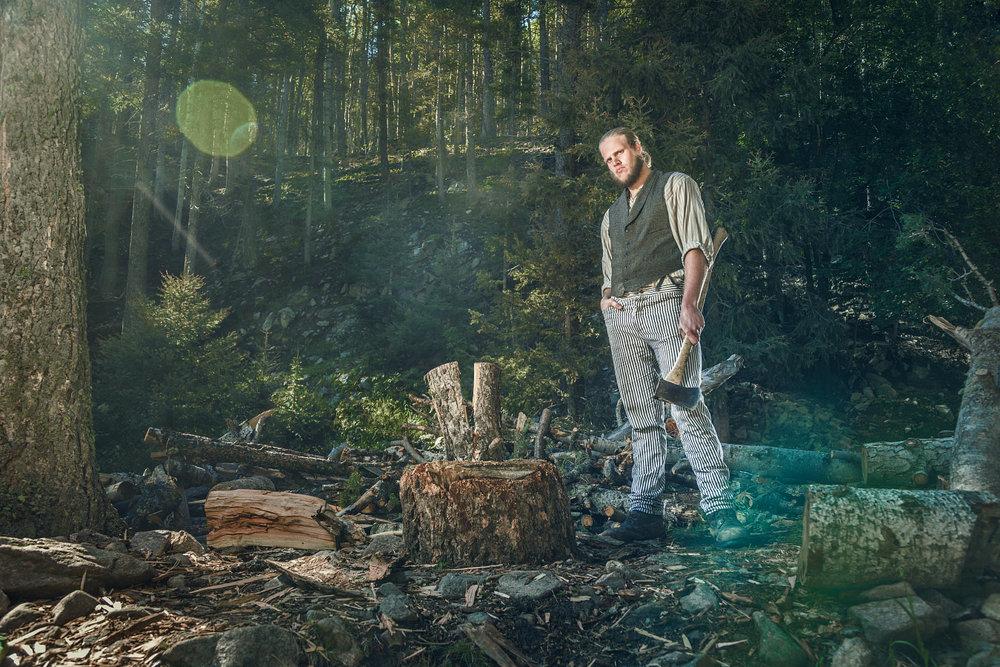 Travis Scherschel  Logger Cyphers Mine Philmont Scout Ranch Cimarron New Mexico