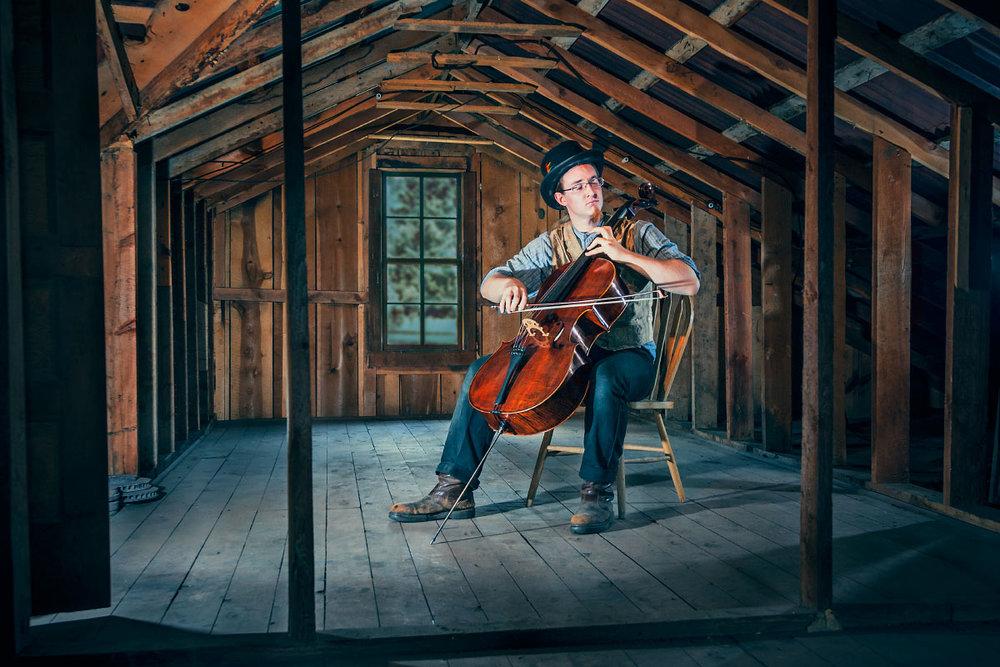 Ian Sandoe Homesteader Rich Cabins Philmont Scout Ranch Cimarron New Mexico