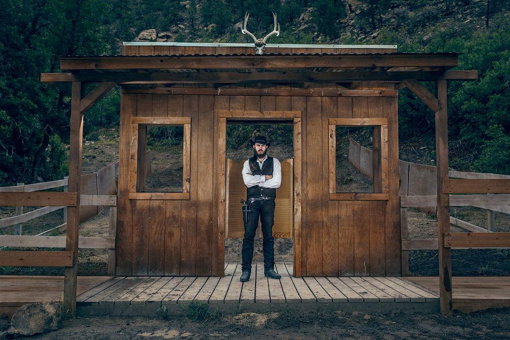 Jake Harvey Cowboy Ponil Philmont Scout Ranch Cimarron New Mexico