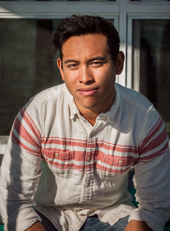 Joey Mireles beach portrait California