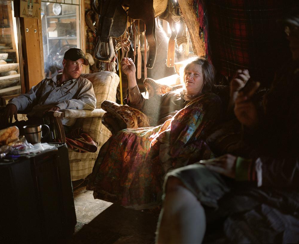 In The Cabin  © Adrain Chesser