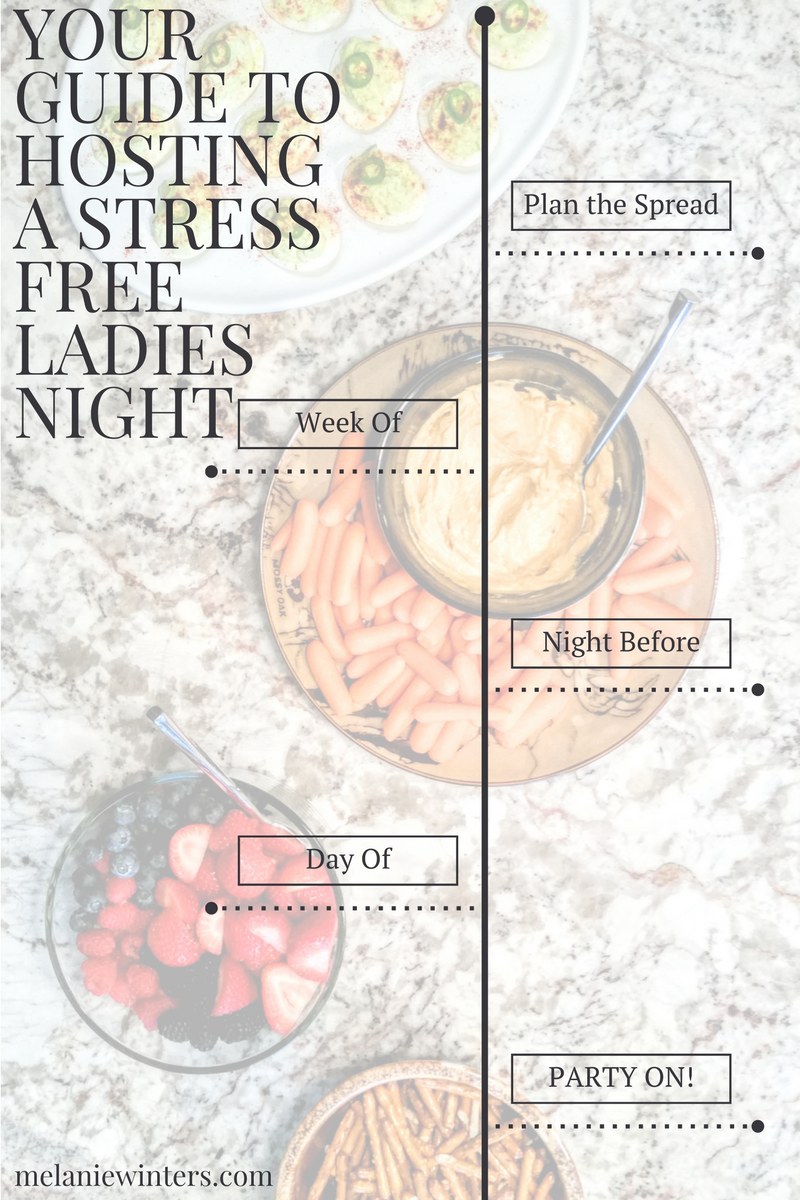 guide to hosting a girls night