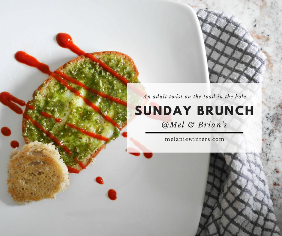 Pesto and Sriracha sauce add a savory twist to a childhood favorite.