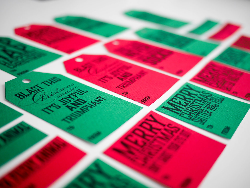 "While some of these holiday movie quote gift tags may land you on the ""naughty"" list, these are perfect for the recipient with a great sense of holiday humor and love for the classic Christmas flicks."