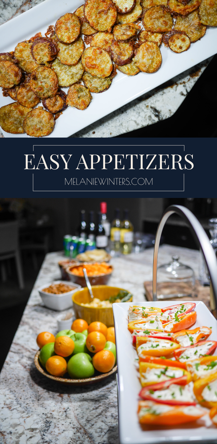 3 Easy Appetizer Ideas that are sure to be a hit at your next gathering. Pair these semi-homemade apps with store bought snacks to create an effortless spread.