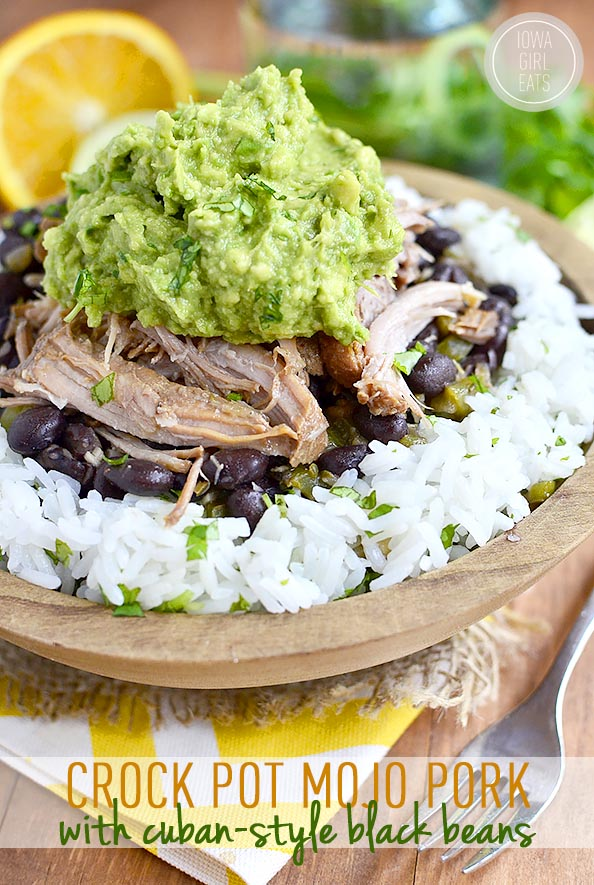Image by Kristin at  Iowa Girl Eats . Crock Pot Mojo Pork - slow cooker recipe.