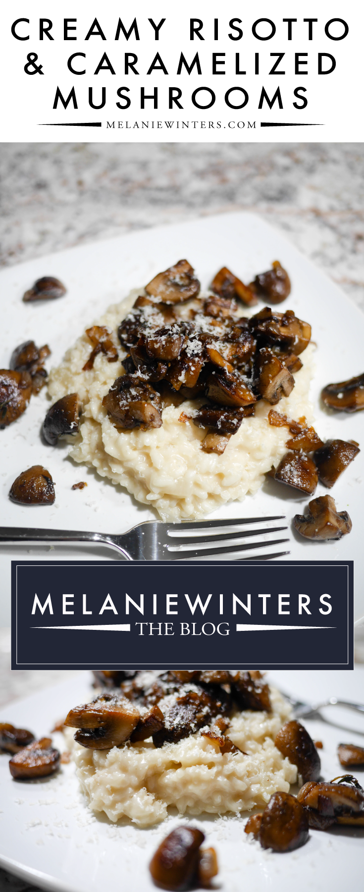 Although risotto is a bit time consuming, it's really quite easy - anyone can make it, and it's TOTALLY worth it! This creamy risotto with caramelized onions is great as a meal in itself or as a side dish.