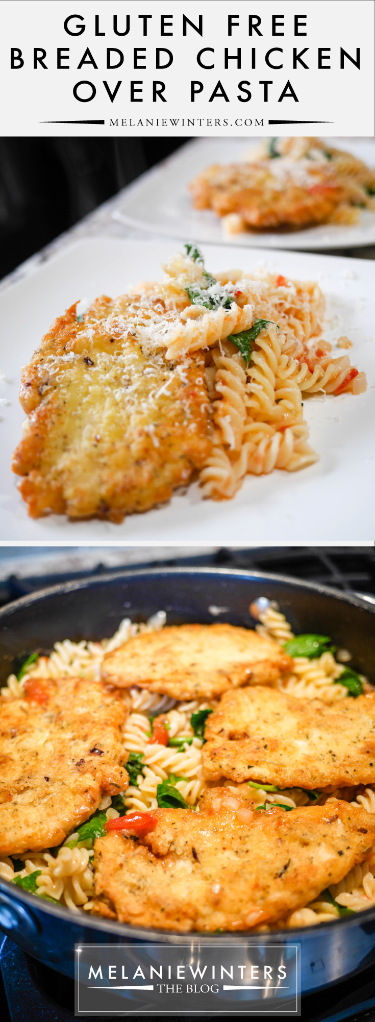 Just because you're gluten free doesn't mean you have to cut out breaded chicken and pasta! Make this restaurant-worthy Italian dish right in your own kitchen.