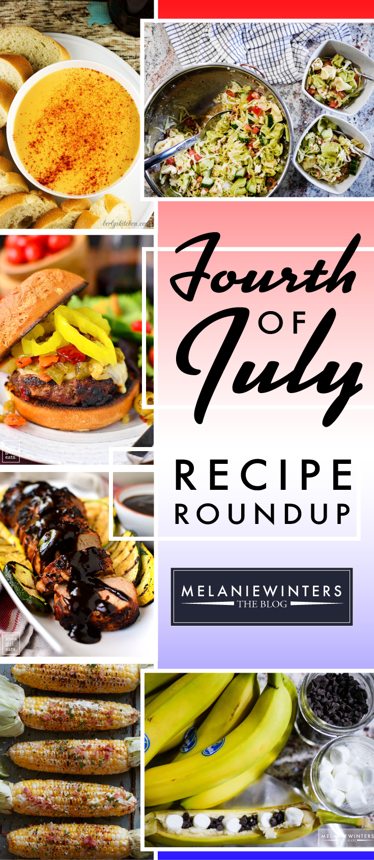 Get those grills fired up, it's time for the best day of the summer! Check out our favorite recipes fit for an epic Fourth of July.