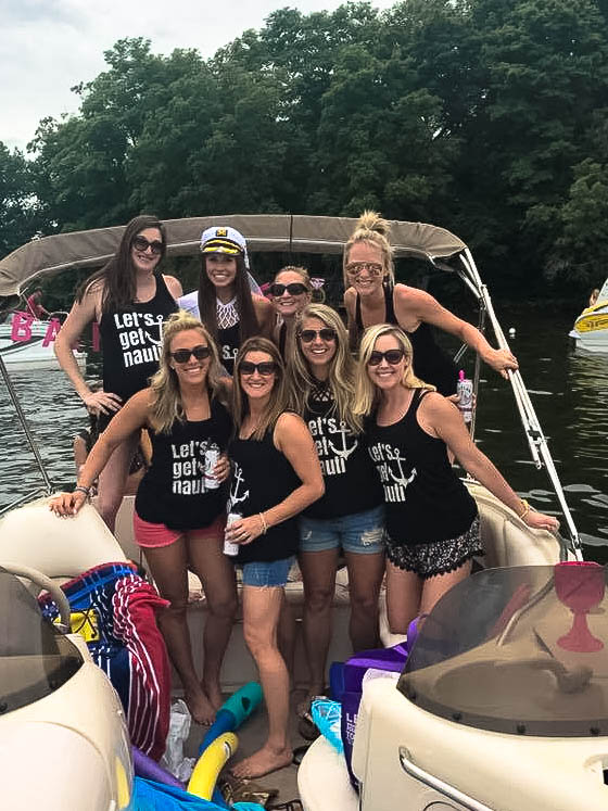 Anchors away! Make sure your Let's Get Nauti tanks work towards a greater good - 50% of the proceeds from these bad boys go to the Michael J. Fox Foundation for Parkinson's Research