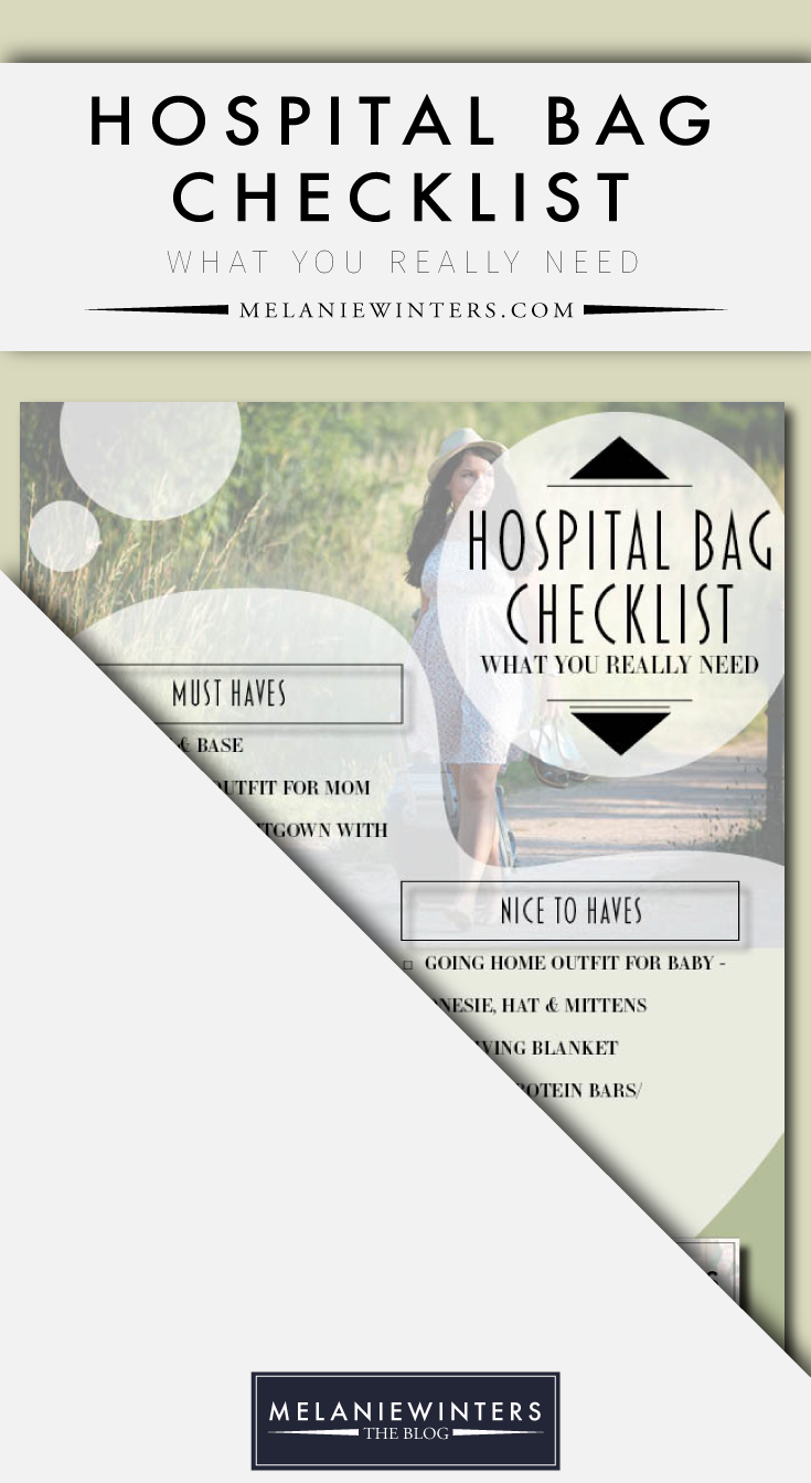 You have plenty of things to stress about, packing your hospital bag shouldn't be one of them. Get our free hospital bag checklist today.