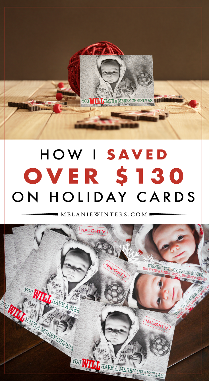 Follow these tips to save big on your holiday cards this year.