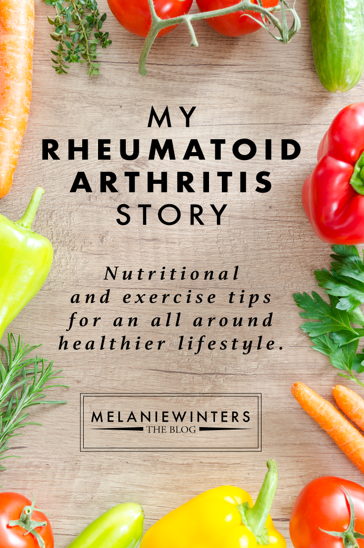 Rheumatoid Arthritis or not - join me on an 8 week journey of food and exercise to manage symptoms and promote an all around healthier lifestyle.