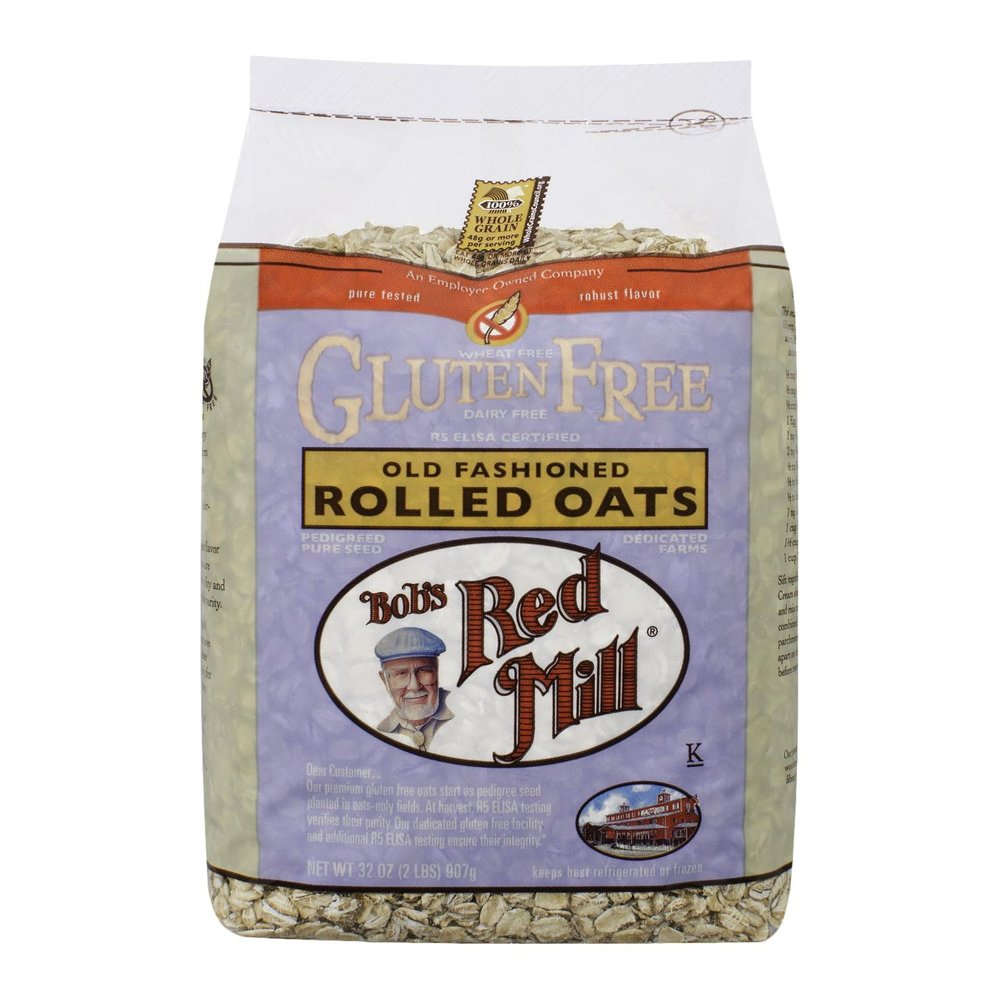 All of Bob's Red Mill GF products are money in the bank! These oats are great for oatmeal, overnight oats, cookies, you name it!