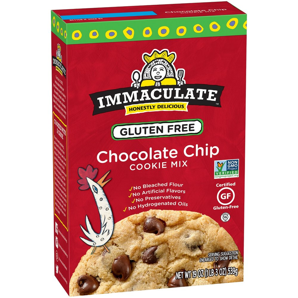 I couldn't find the refrigerated dough online, but this IMMACULATE brand chocolate chip cookie is to die for! This is the mix, but you can find refrigerated break apart dough in stores as well.