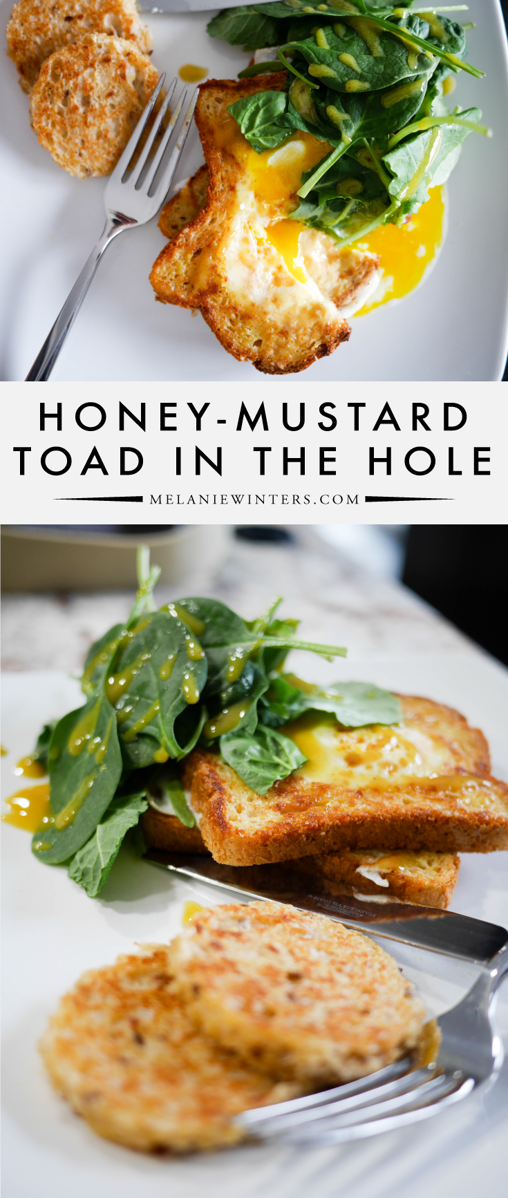 This amped up version of the classic toad in the hole is going to take your brunch game to the next level! Easy, yummy and healthy breakfast of champions! Oh, and did I mention the gluten free version is equally delicious?!