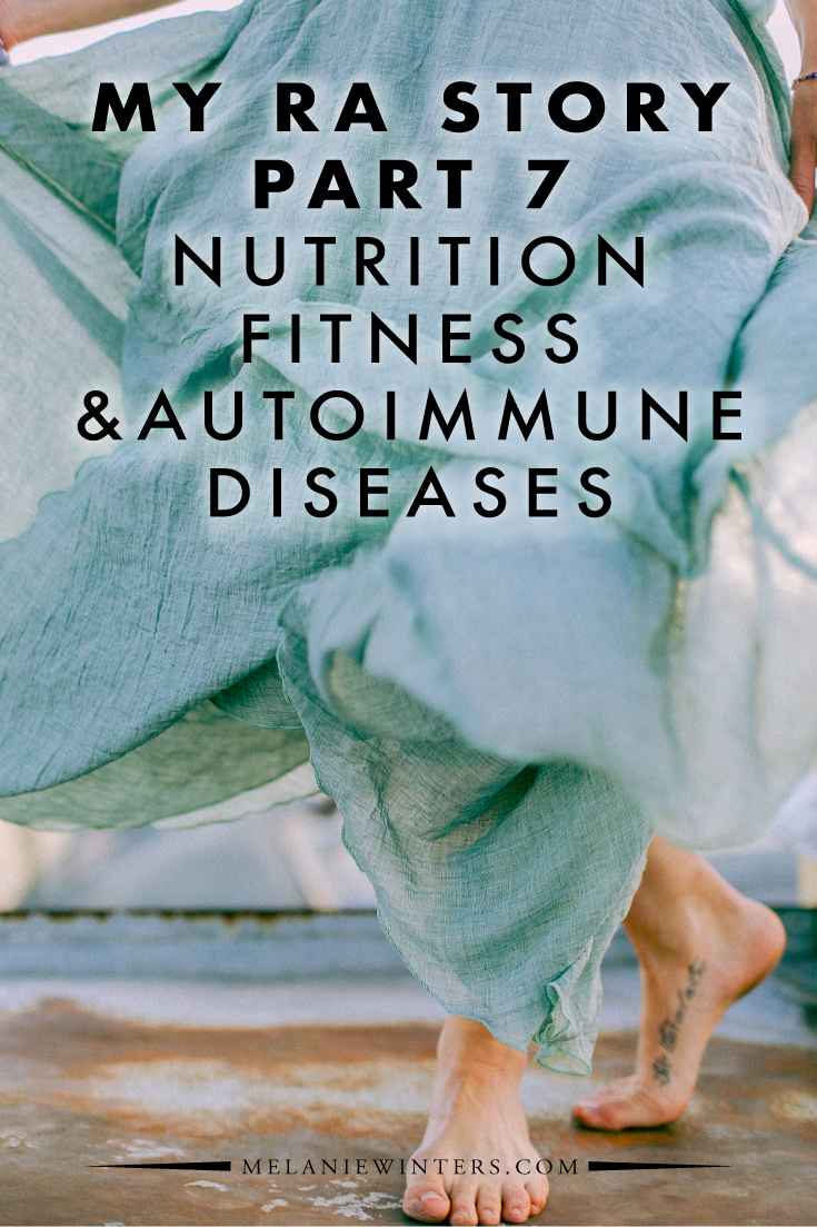 A look at how nutrition and fitness habits impact life with autoimmune diseases (namely Rheumatoid Arthritis and Hypothyroidism).