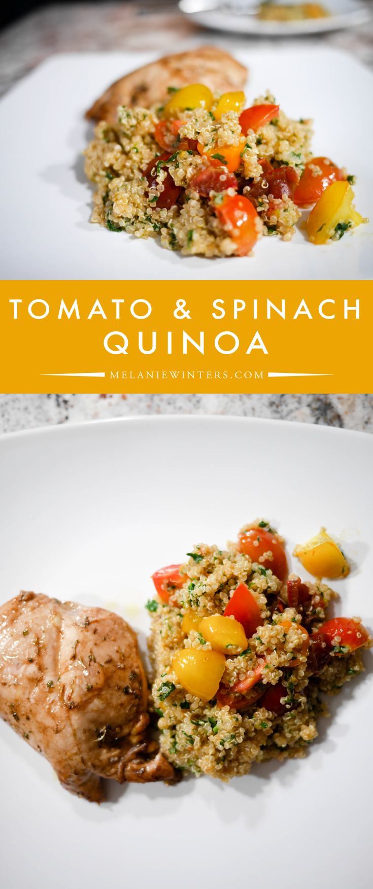 Ready in 20 minutes, just a few ingredients take your quinoa to next level deliciousness.