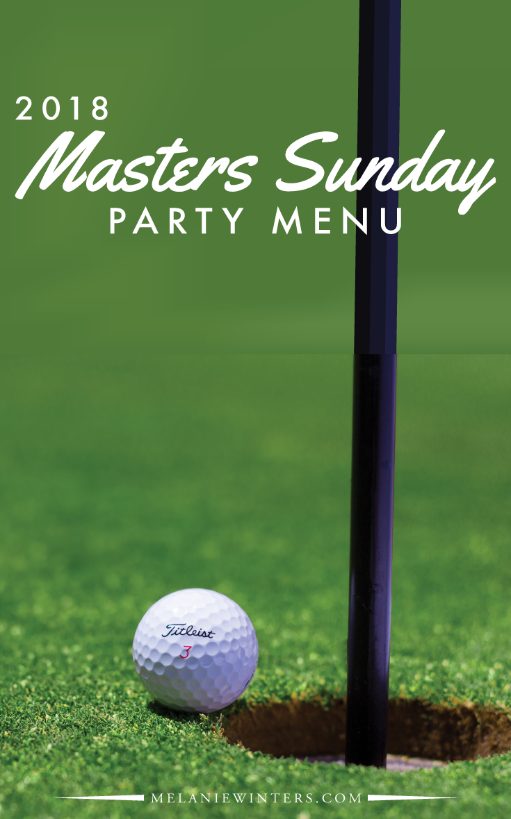 Can't be at Augusta for golf's greatest tradition? Then bring Augusta National to you with our Masters Sunday party menu.