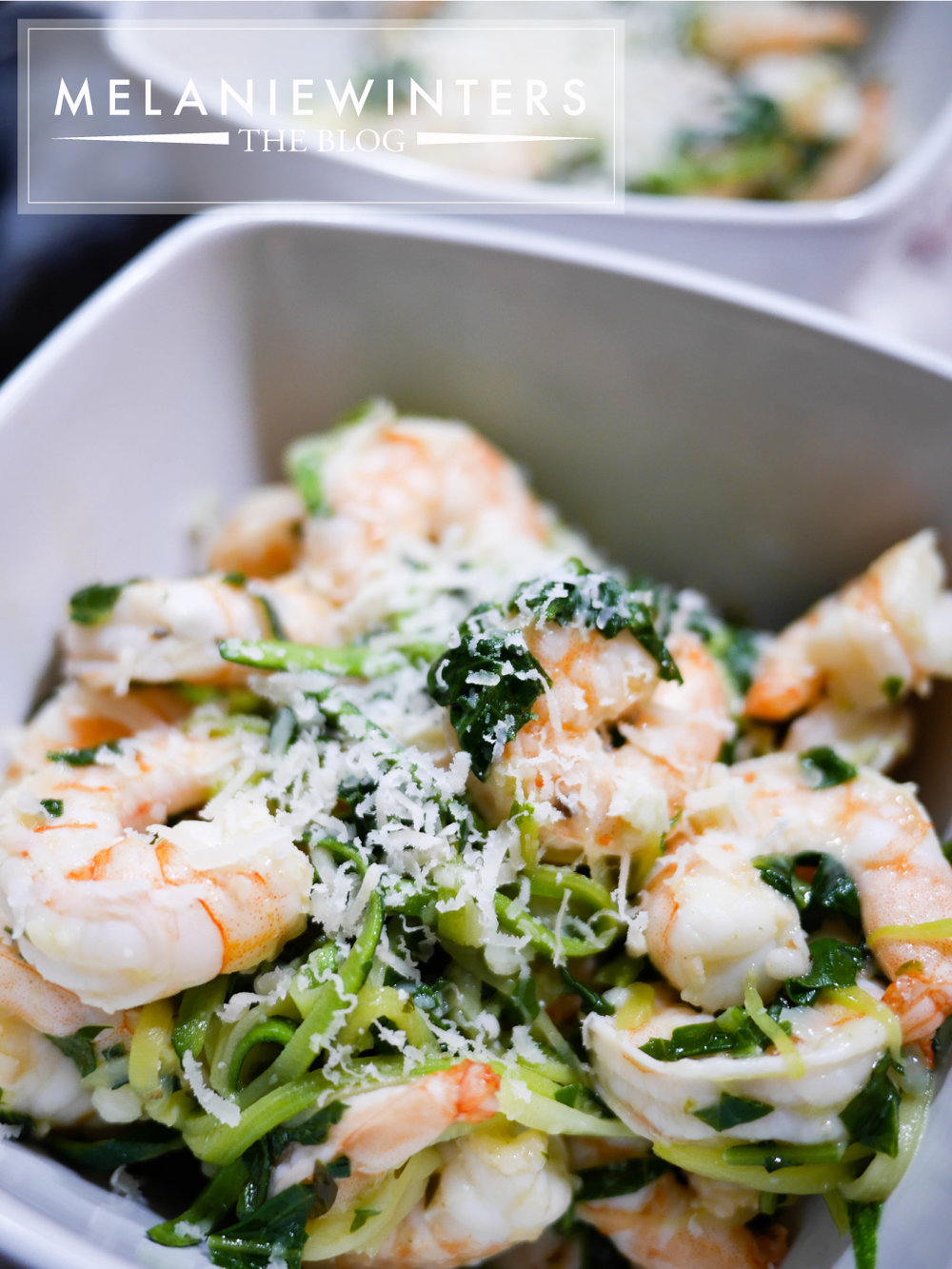 Twenty minutes to a healthy and delicious shrimp and zoodles dinner.