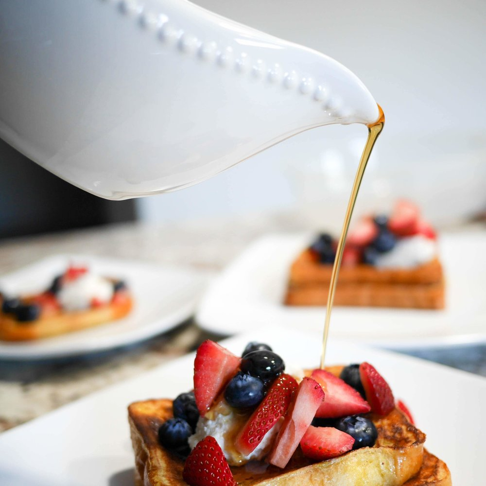 Berry Cheesecake French Toast