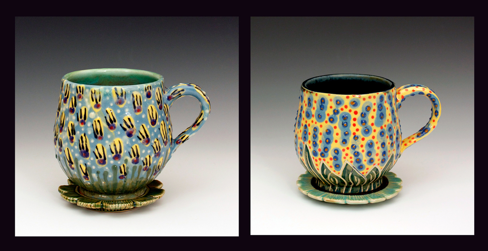 Floral Mugs 2014