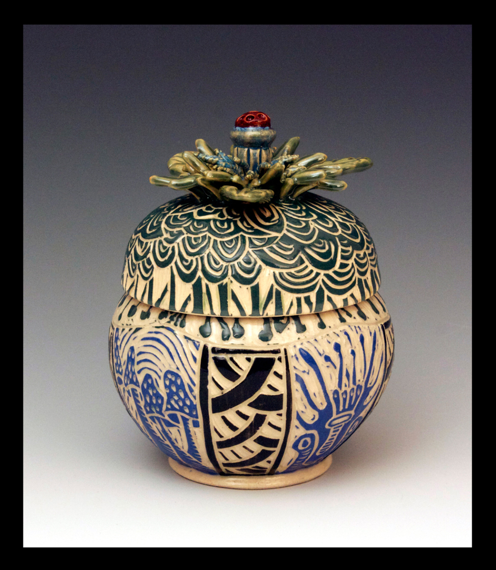 Lidded Container 2014