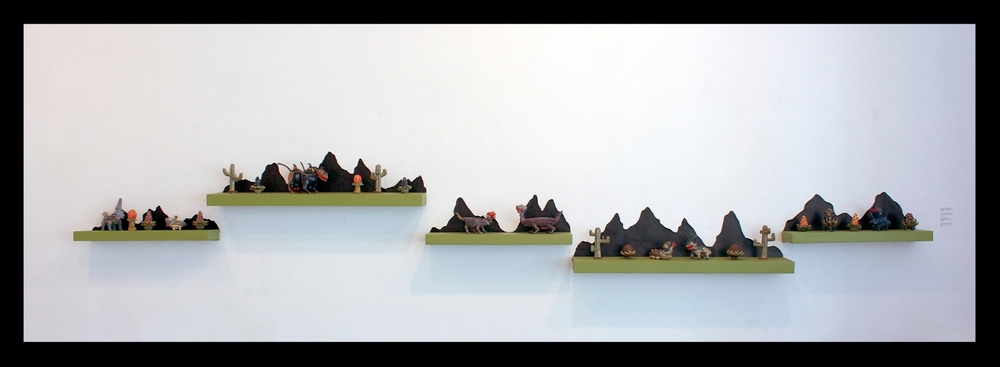Mountain Jaunt, Salt & Pepper Shakers, Lidded Containers, 2013