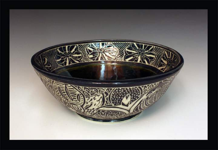 Sgraffito Bowl, 2016