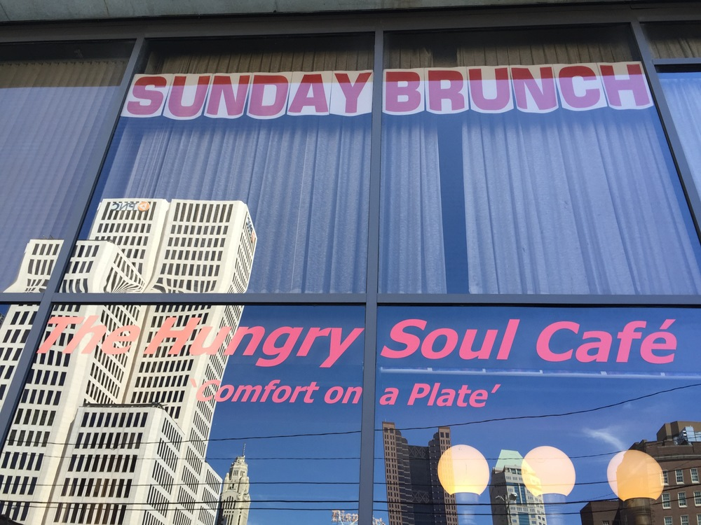 The Hungry Soul Cafe: Great for Sunday brunch!