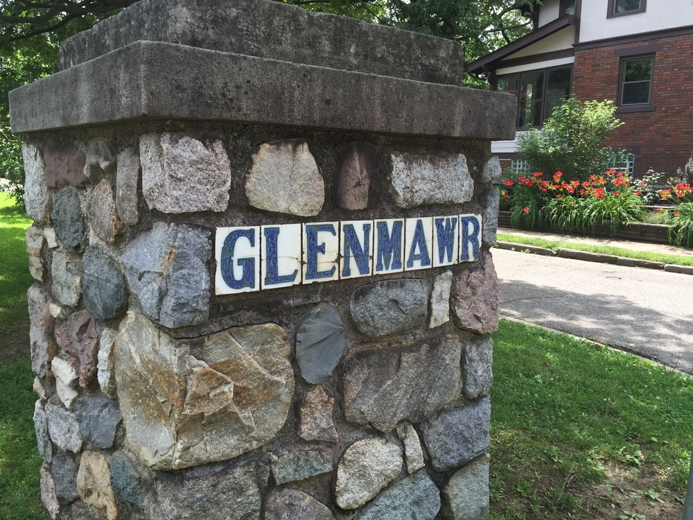 GlenMawr Neighborhood, next to Glen Echo Park